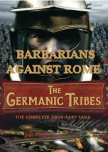 This acclaimed multi-million dollar 4 part series shows the rise of the tribes of a primitive culture on the fringe of northern Europe to become the heirs of the Roman Empire. Since the age of Caesar this Roman-Germanic conflict was characterized not only by fierce battles but also by phases of co-existence & cooperation. the Germans dug the grave of the Roman Empire, but were also the preserves of the Roman legacy.